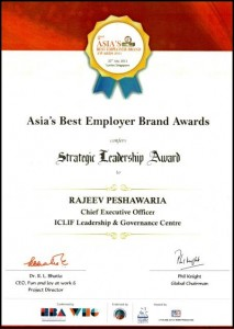 Strategic Leadership Award 2011
