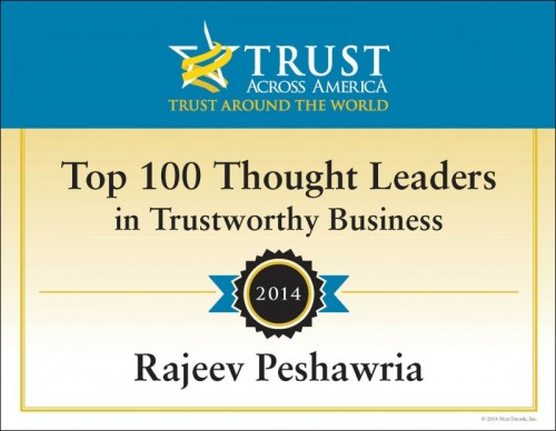 Trust Award 2014
